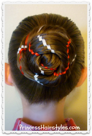 Aztec Carousel Braid Bun Hair Tutorial