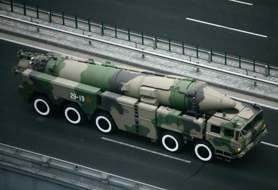 DF-21D ballistic missile