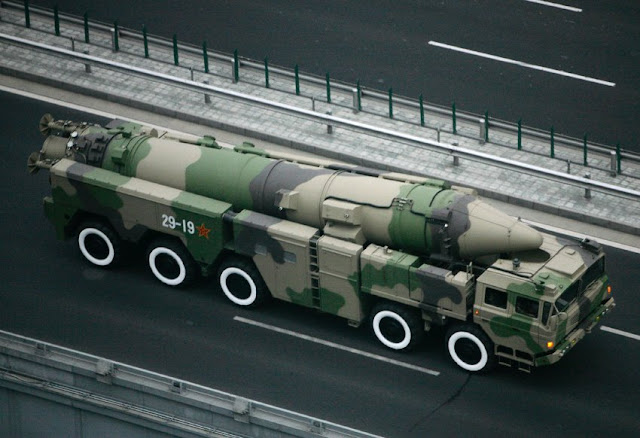 DF-21D anti-ship ballistic missile