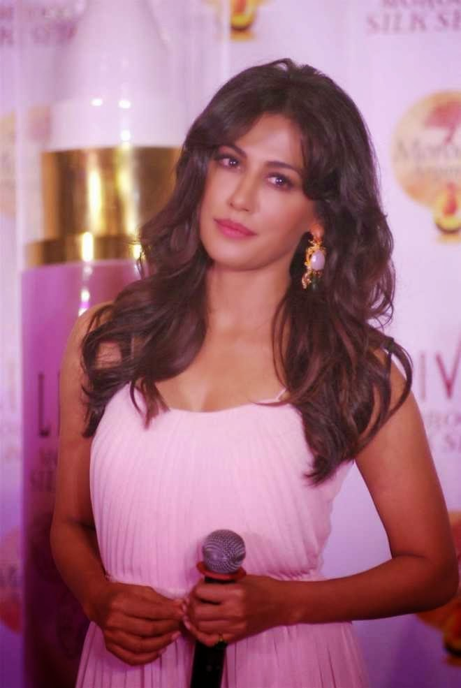 Chitrangda Singh Latest Photos At Livon Silk Launch