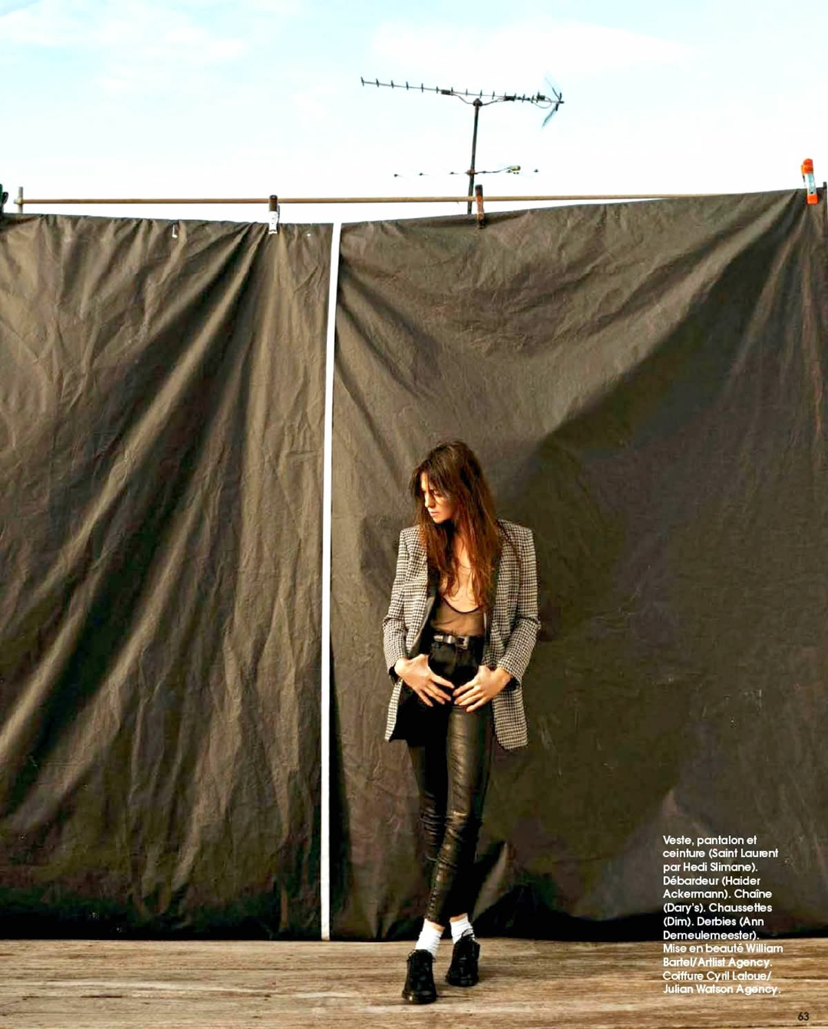 Charlotte Gainsbourg Marie Claire France Magazine