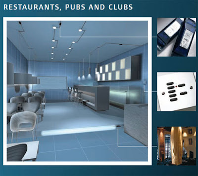 Rako Dimmers and Rako Wireless Controls in Restaurants, pub, and clubs