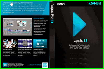 Download Free Sony Vegas Pro 13.0 Build 453