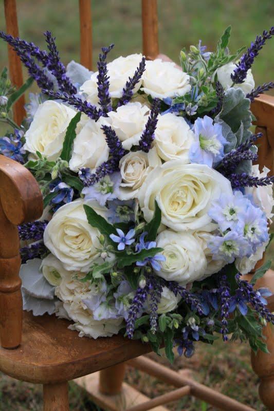 Dusty Blue Wedding Bouquets : Splendid stems floral designs wedding flowers