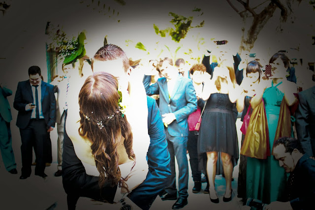 beso boda ya casados