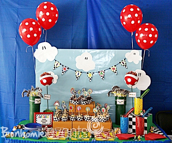 super mario party by bonhomieevents.com