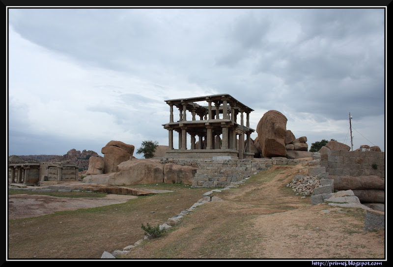 Two Storied Structure at Hemakunta