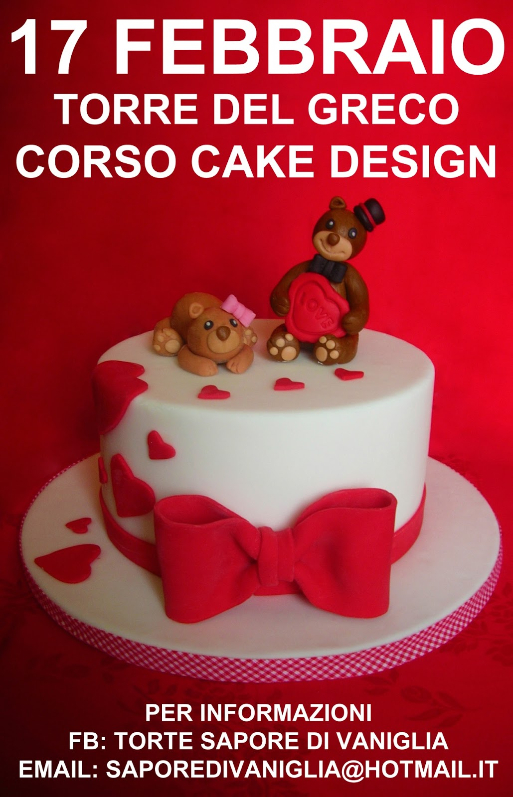 Corso Cake Design Catania 2018 : Sapore di Vaniglia: CORSO BASE CAKE DESIGN