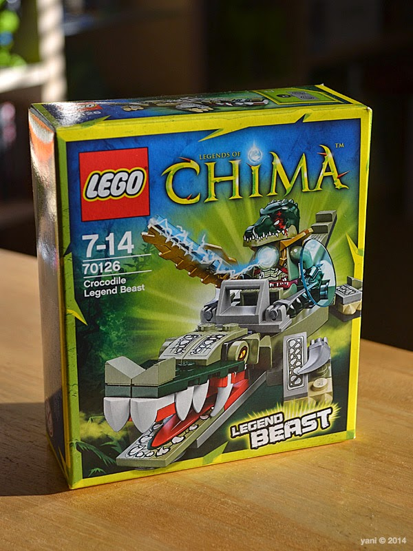 lego chima legend beast crocodile - da box