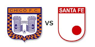 Ver Chico Vs Santa Fe Online en Vivo - FPC Liga Postobon