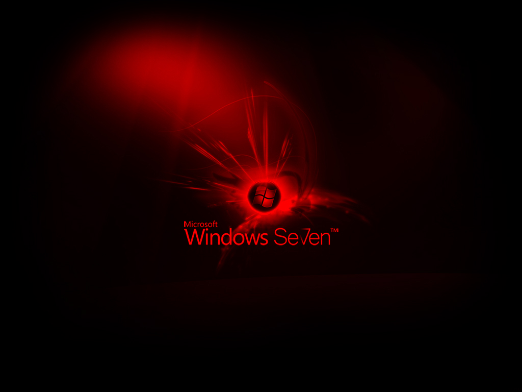 the only wallpapers: black windows 7 wallpaper