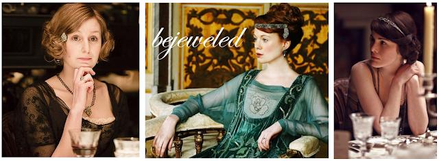 Downton Abbey, hair jewelry