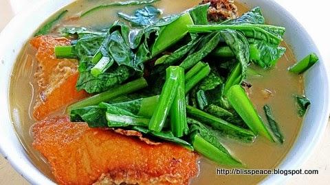 Fish meat noodles....