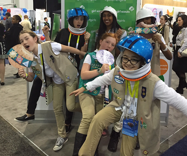 girl scout blog day 2 girl scouts at ces roundup