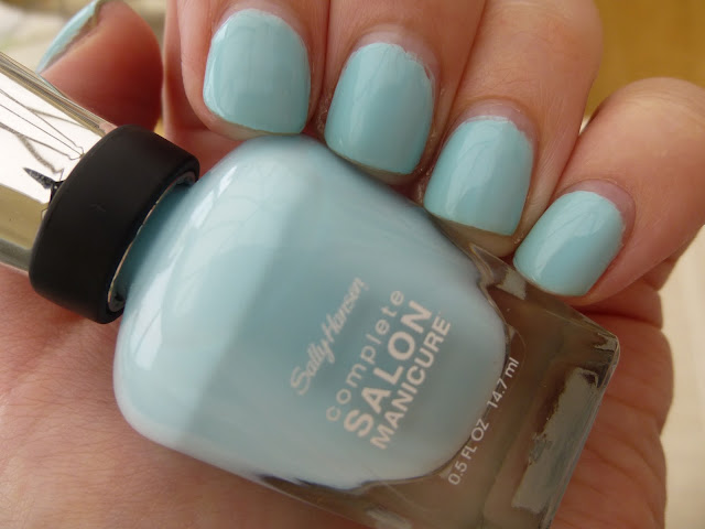 Sally Hansen Complete Manicure Nail Polish In Barracuda