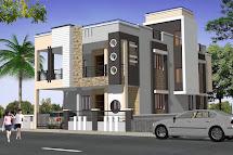 Contemporary House Design Elevation Rachana Architect