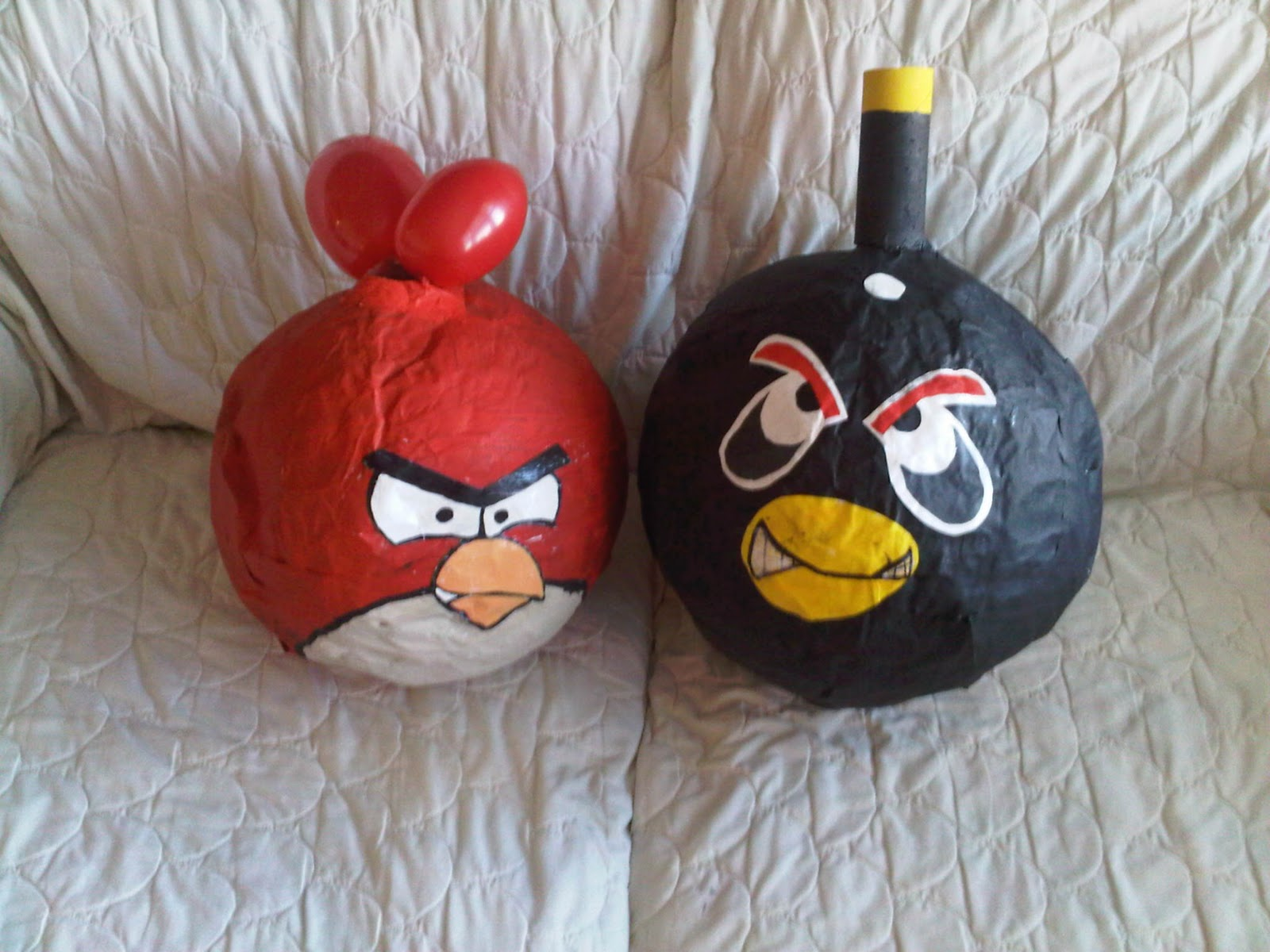 Angry birds pinata tutorial