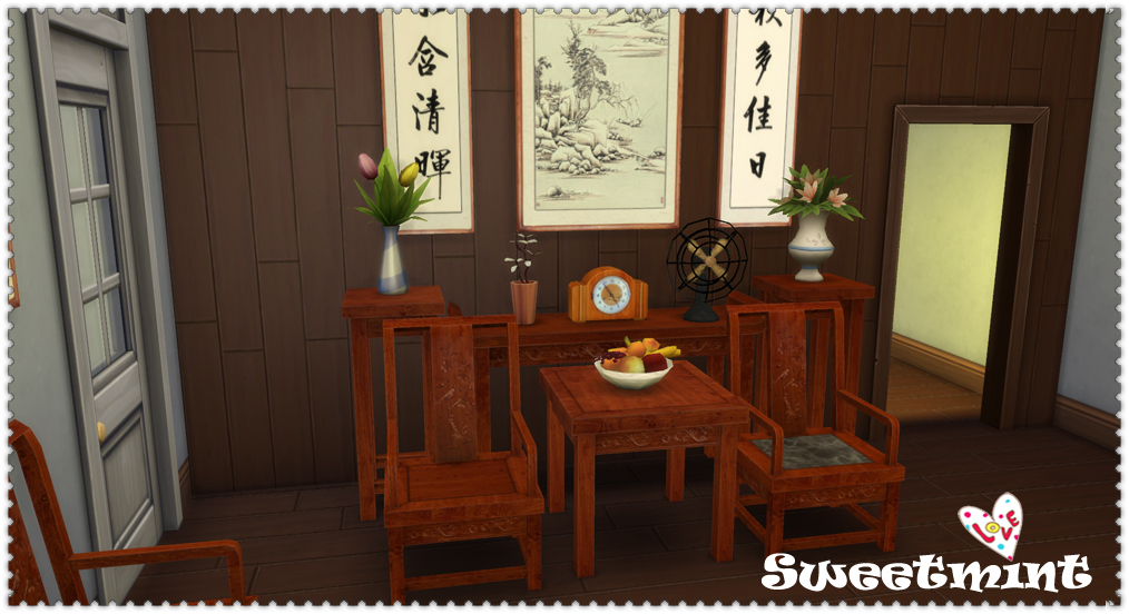 High Quality The Life In Shikumen Lanes Furniture And Build Set By SweetMint