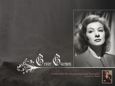 Hollywood Classic Actress Greer Garson Wallpaper