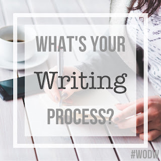 Writing prompt: What's your writing process?