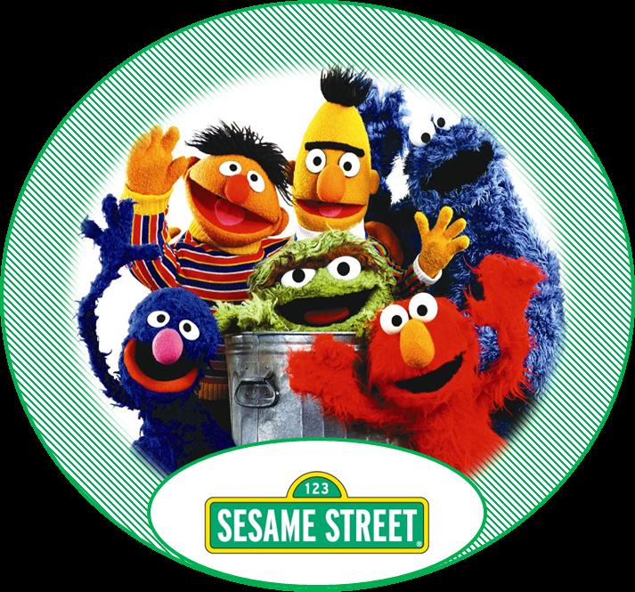 Sesame Street in Green: Free Printable Kit. | Oh My Baby!