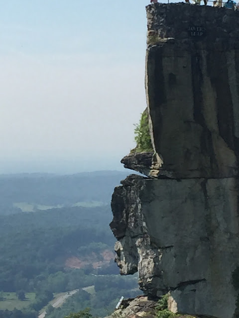 Rock City Chattanooga, Tennessee travel recap.