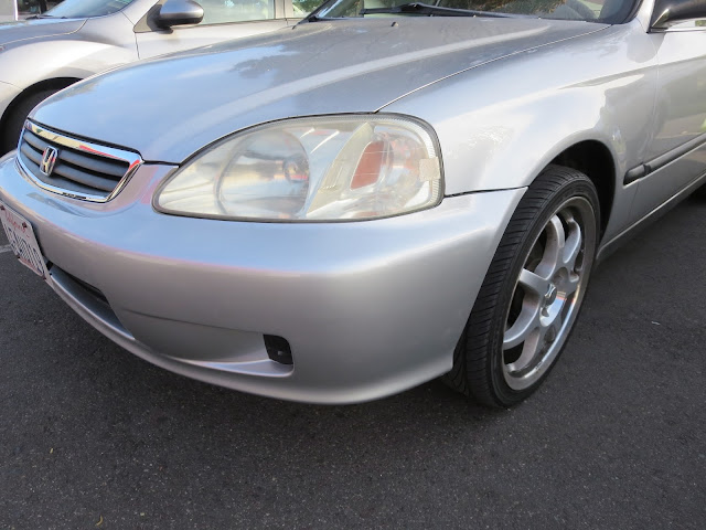 Civic after collision repairs at Almost Everything Auto Body