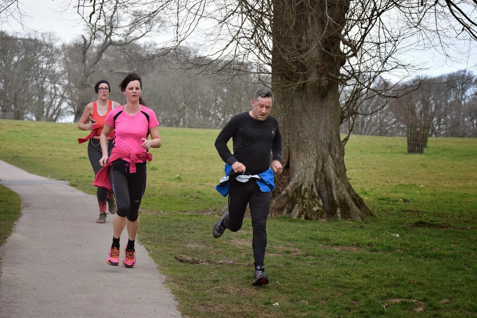 Finishing Lanhydrock Park Run