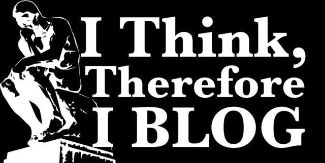新的理論觀點通常出現在部落格而不是期刊論文