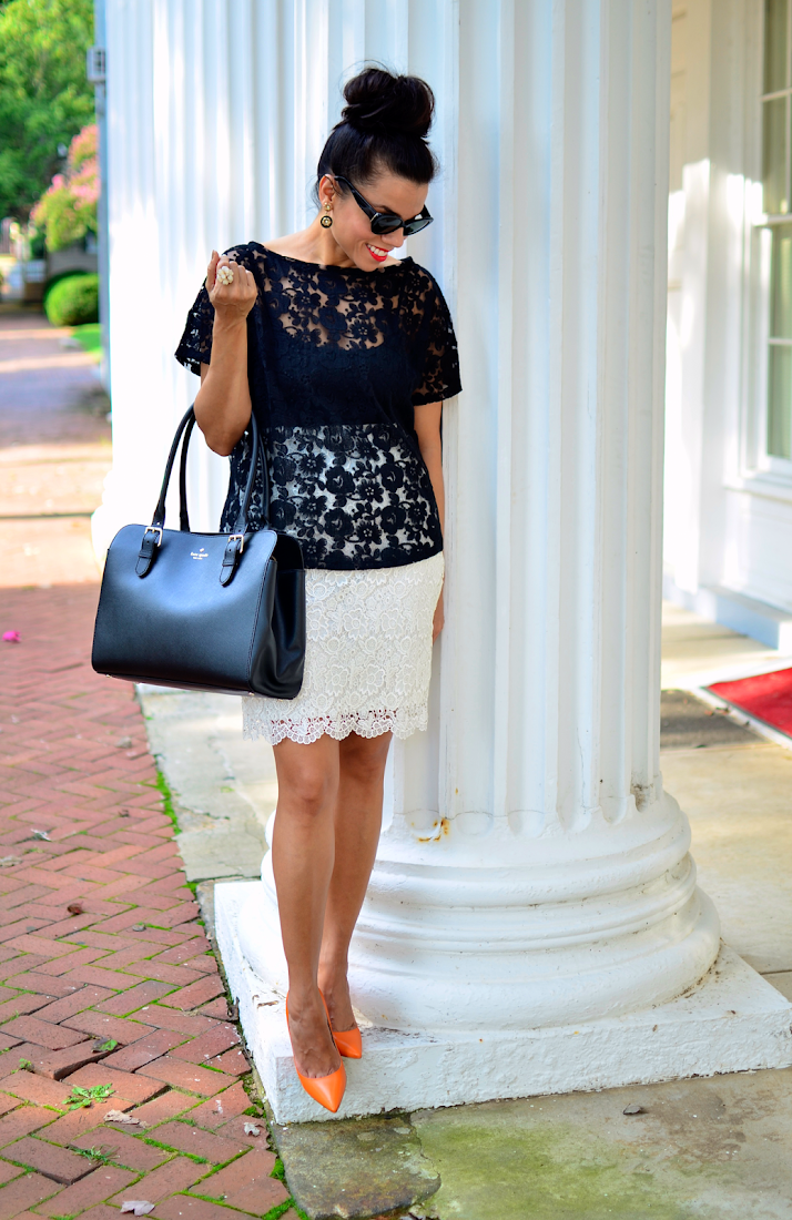 Lace Look Street Style