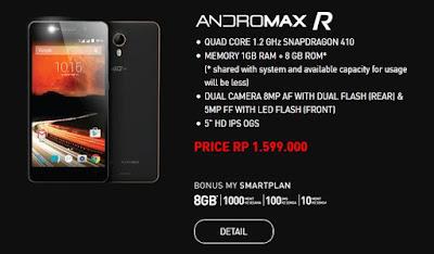 Andromax R, Smartphone Andromax 4G LTE Terbaru