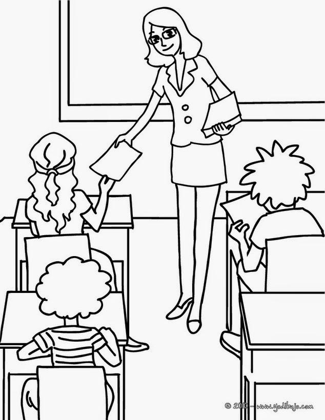 Cuentos I: El colegio de enseñanza \