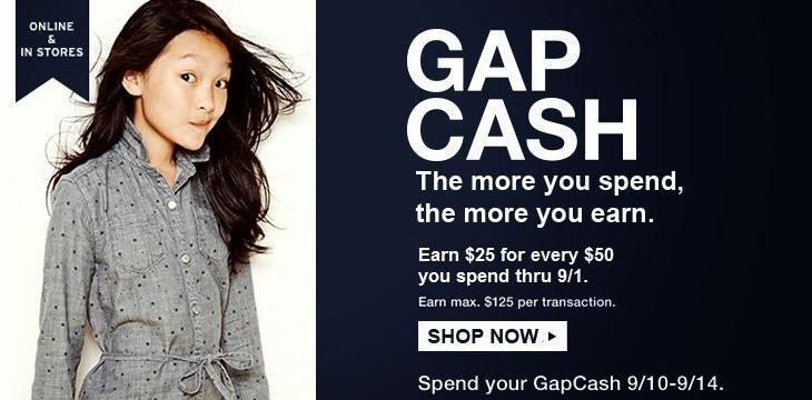 Gap Deals and Coupons