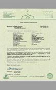 Halal Certificate Shaklee
