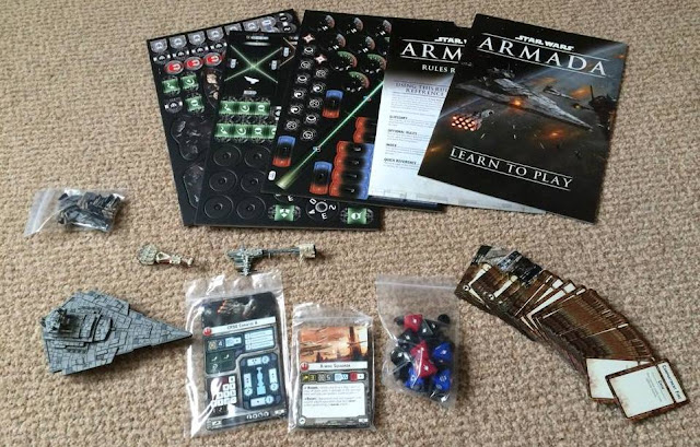 Star Wars Armada Review Box Contents