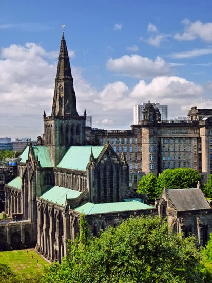 Glasgow Cathedral, St Kentigern, Mungo, Sctotland, city origins, dear green place