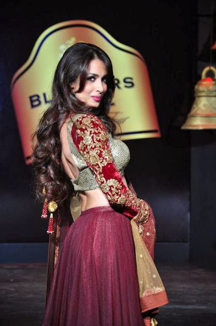 Malaika Arora Khan walks for BPFT 2013 in Hyderabad