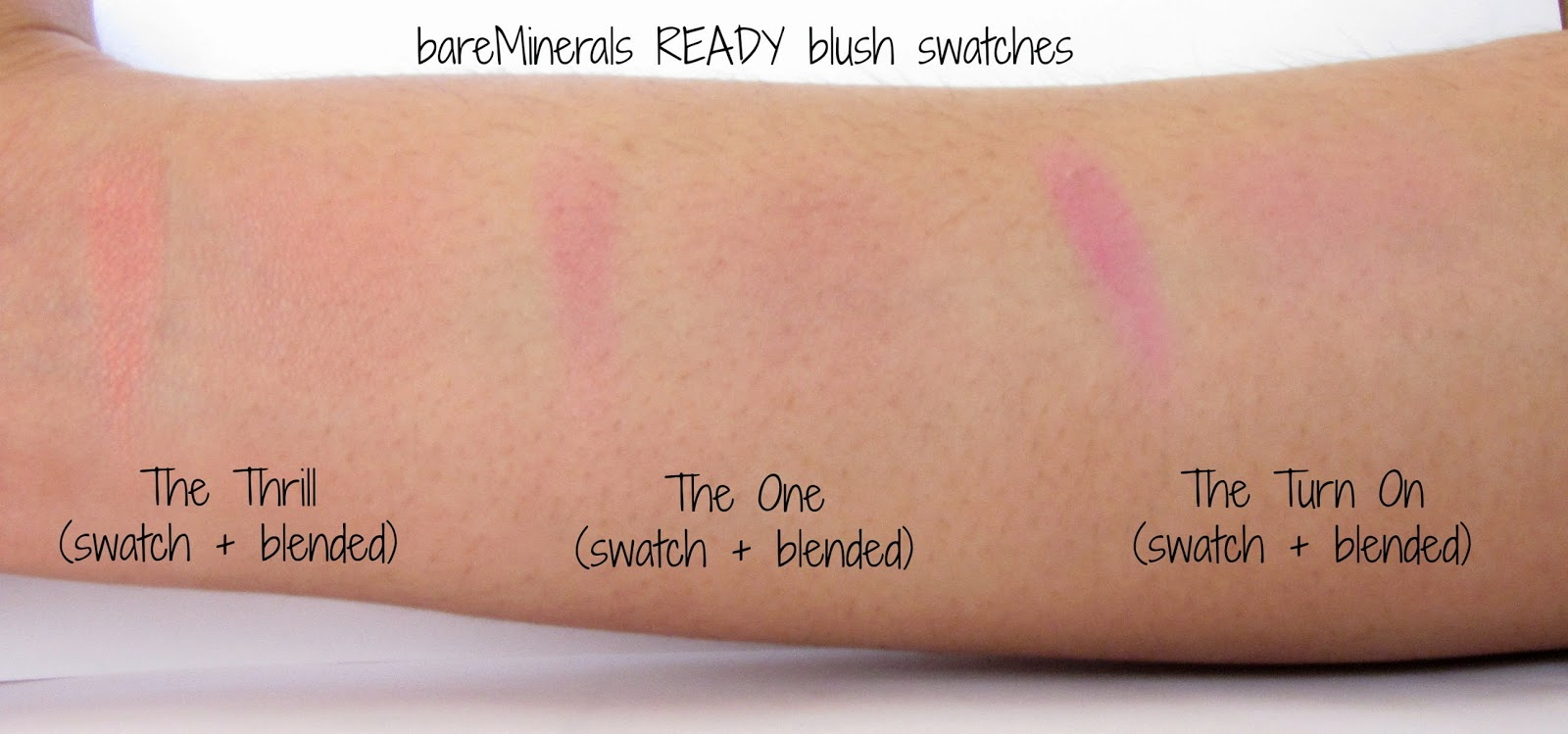 Brown Girl Makeup Musings: bareMinerals READY blush review
