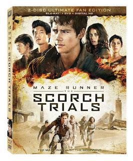 Maze Runner the Scorch Trials Blu-ray