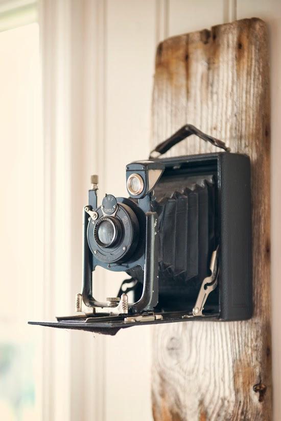 antikviteter, antik kamera,