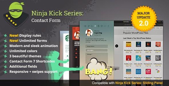 Ninja Kick: WordPress Contact Form - WordPress Plugin
