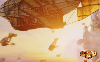 Bioshock Infinite 2013 Game Zeppelin HD Wallpaper