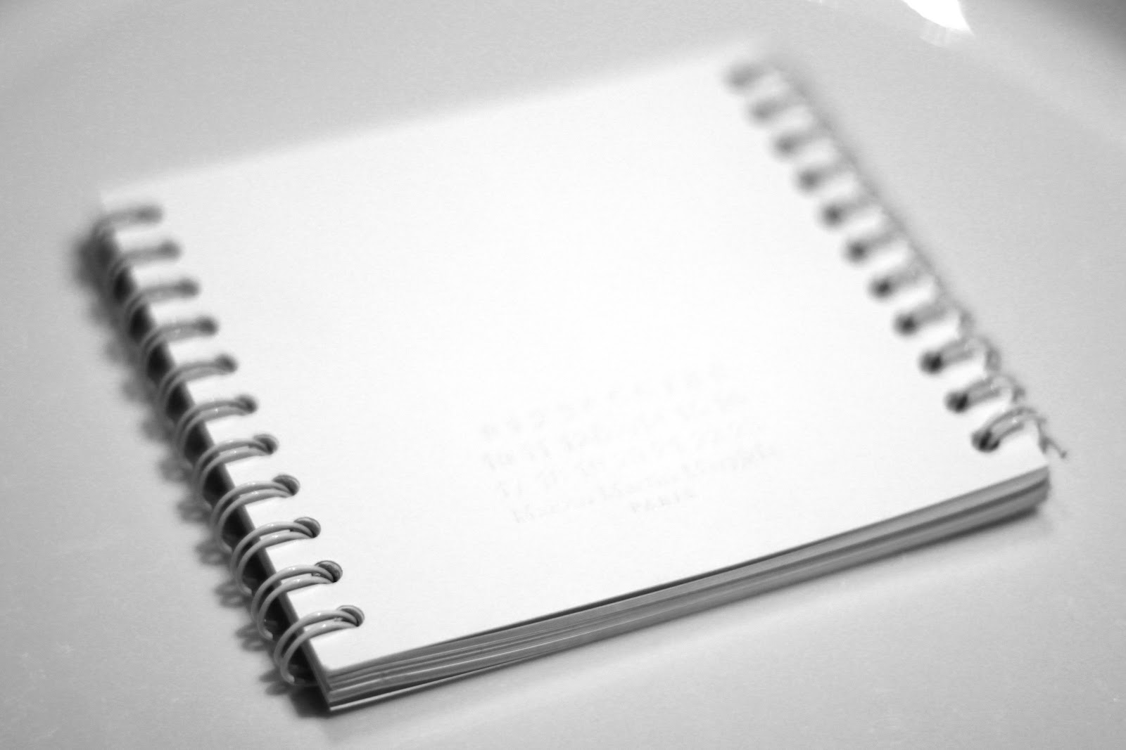 Margiela bound notebook