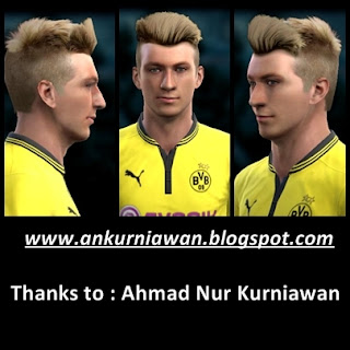 Download Face Marco Reus by Ahmad Nur Kurniawan