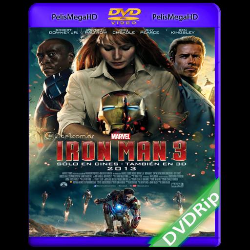 IRON MAN 3 (2013) DVDRIP ESPAÑOL LATINO
