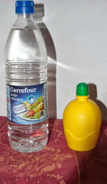 vinaigre, citron