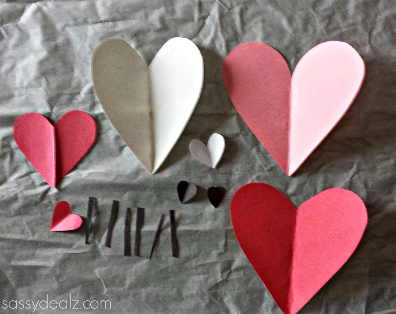 bunny craft for valentines day
