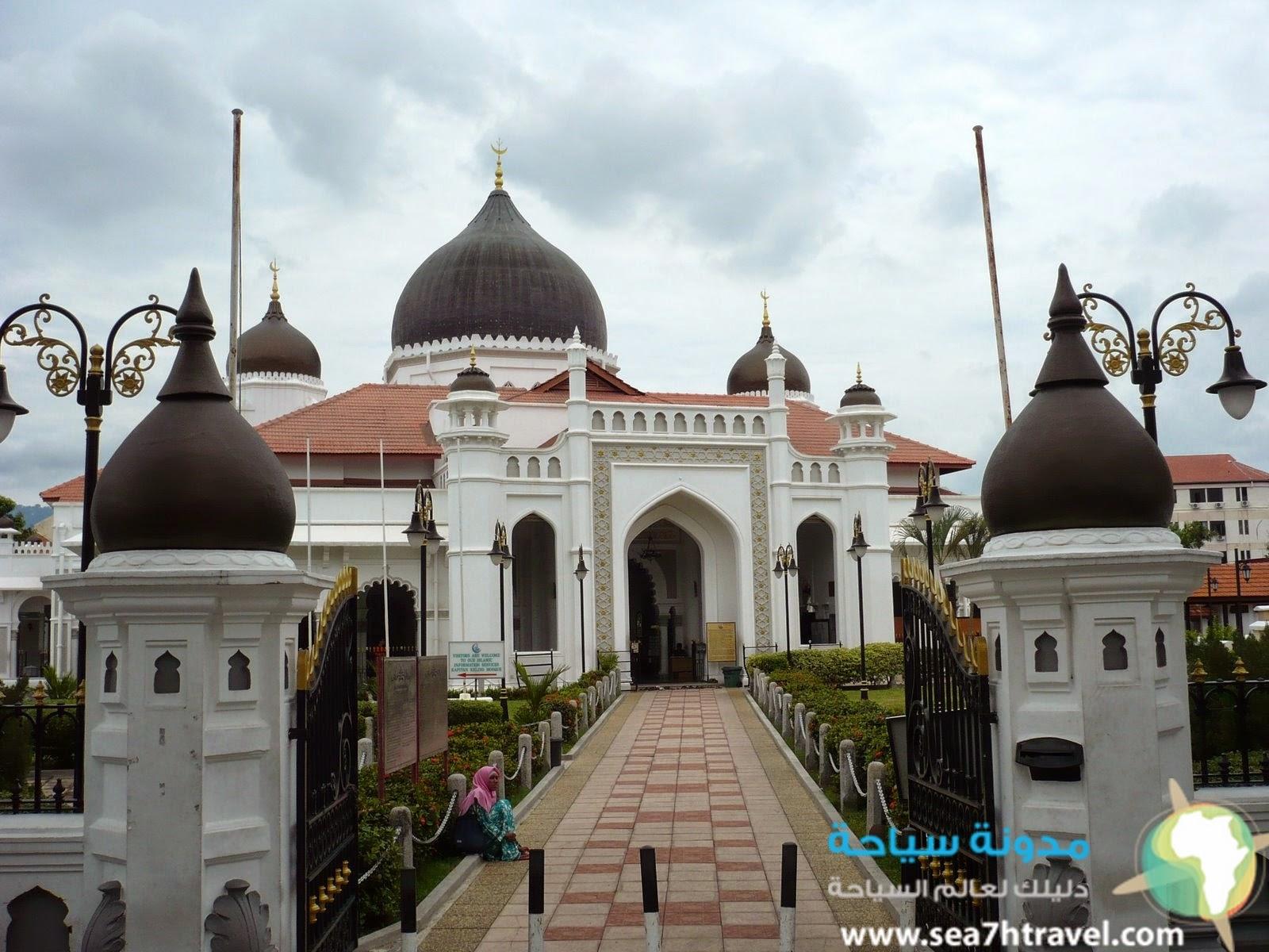 مسجد القبطان فى جورج تاون