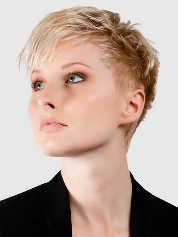 SHORT BLONDE HAIRSTYLES Very short hairstyles for