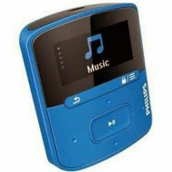 Amazon: Buy Philips Gogear Raga 4 Gb Mp3 Player at  Rs.1799 (SBI Cards) or Rs. 1999